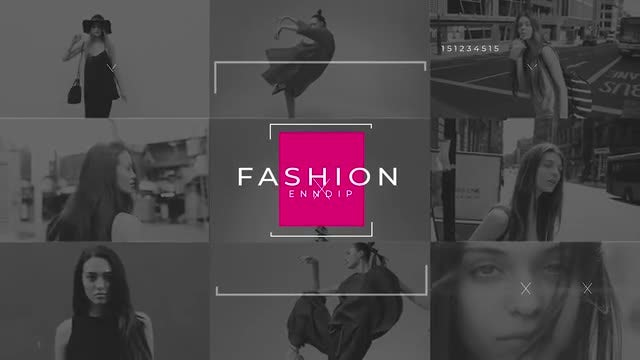 Fashion Trendy Opener 4K: After Effects Templates