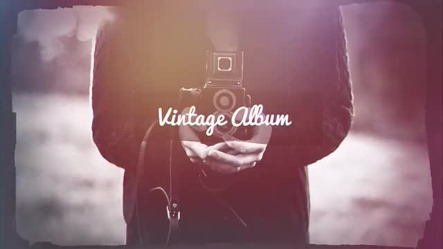 Vintage Album: After Effects Templates