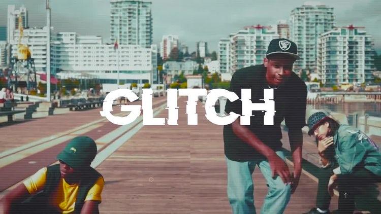 Glitch Opener: Premiere Pro Templates