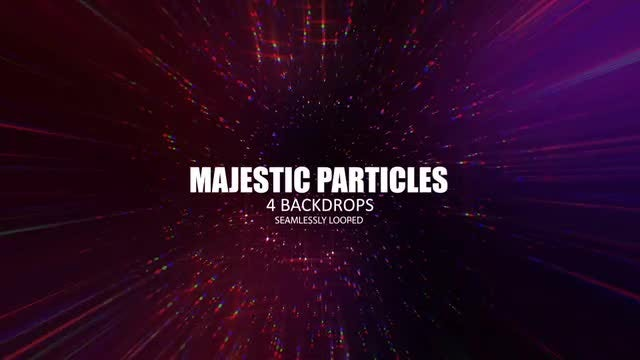 Majestic Particles Pack: Stock Motion Graphics