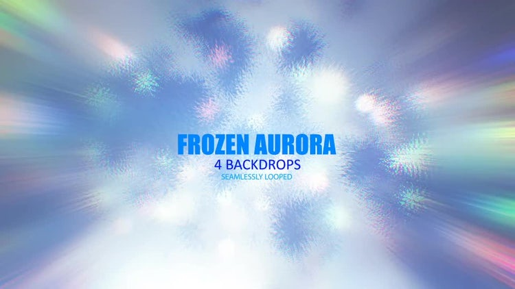 Frozen Aurora Pack: Stock Motion Graphics