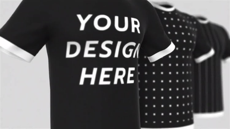 T-Shirt Mockup: After Effects Templates