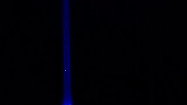 Blue LED Light Flashing: Stock Video
