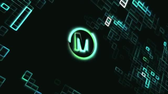 Digital Neon Logo: After Effects Templates