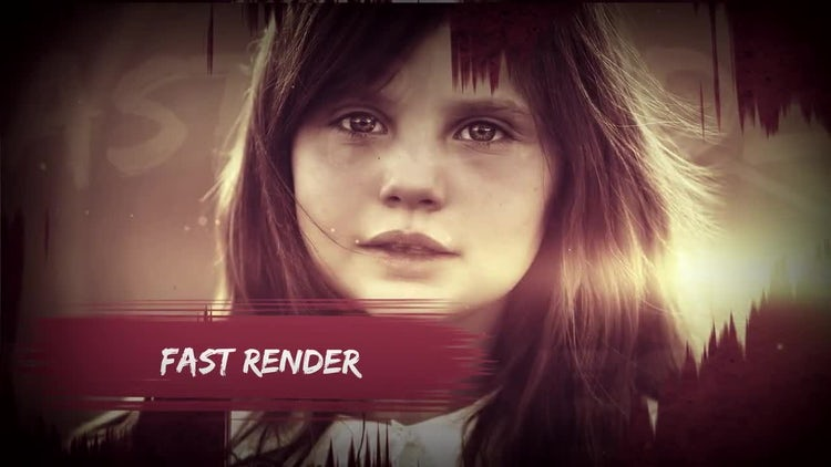Paint Reveal Opener: After Effects Templates