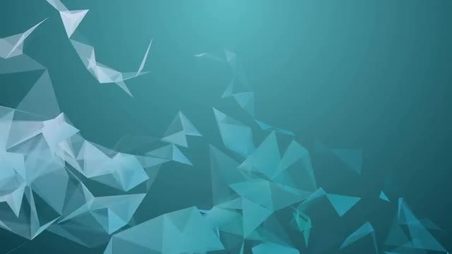 Abstract Triangles Plexus Background: Stock Motion Graphics