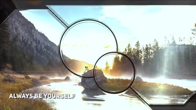 Through Glass Slideshow: After Effects Templates