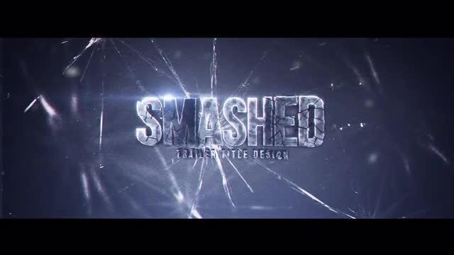 Smashed Title Design: Motion Graphics Templates