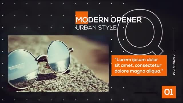 Opener | Modern: Premiere Pro Templates