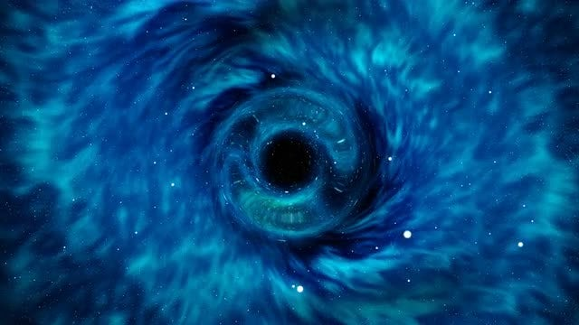 Black Hole In Space: Stock Motion Graphics