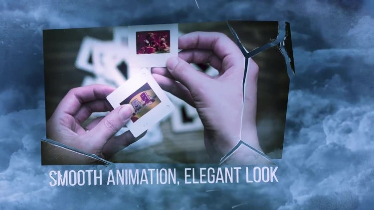 Through Clouds: After Effects Templates