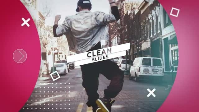 Clean Slides: After Effects Templates
