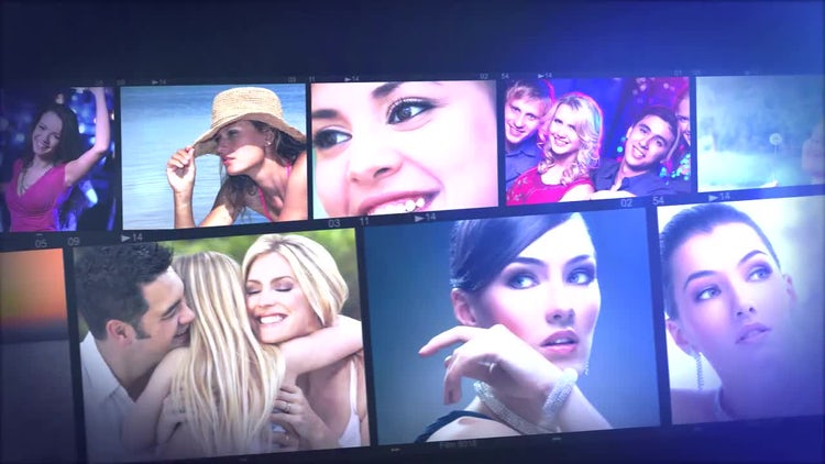 Photo Strip: After Effects Templates