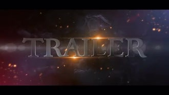 Epic Film Trailer: After Effects Templates