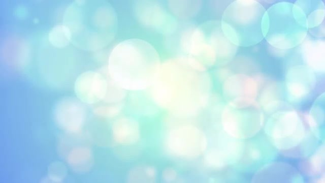 Soft Bokeh: Stock Motion Graphics