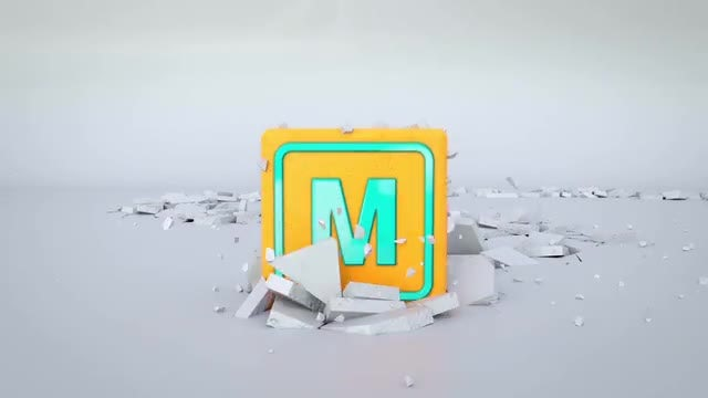 Crack Logo Reveal: After Effects Templates