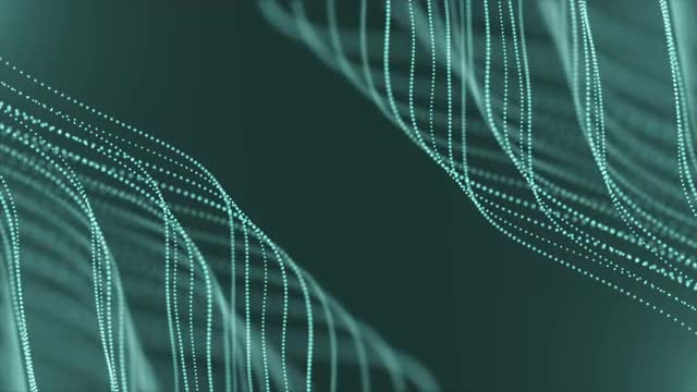 Cyan Looped Background: Stock Motion Graphics