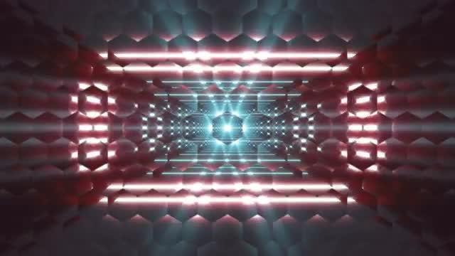 Hexa Glass VJ Loop: Stock Motion Graphics