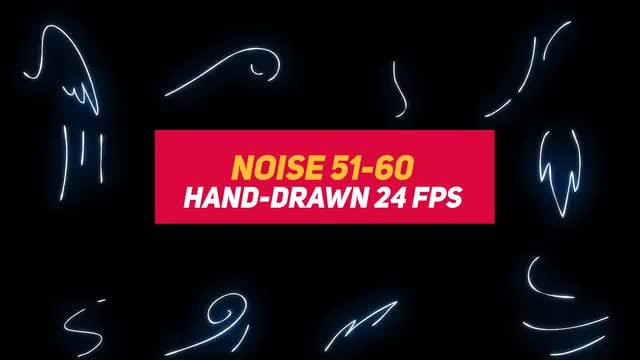 Liquid Elements 3: Noise 51-60: Stock Motion Graphics