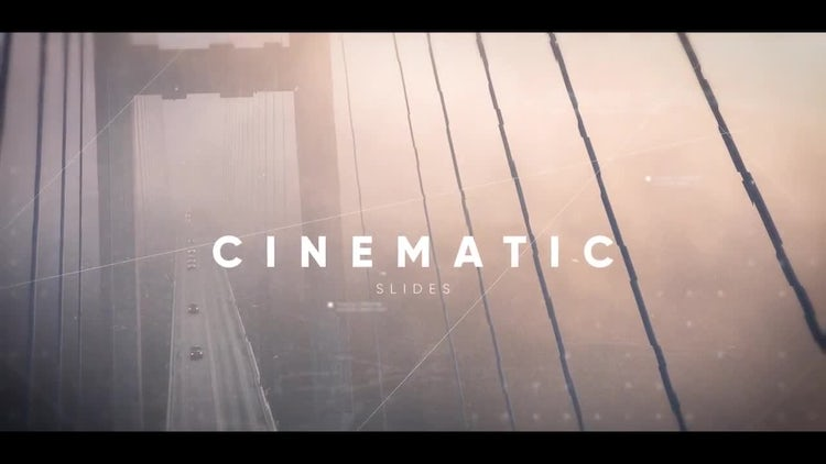 Inspiring Cinematic Slideshow: Premiere Pro Templates