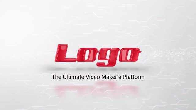 Clean Reveal Logo: After Effects Templates