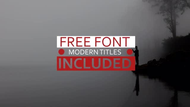 Modern Titles v.2: After Effects Templates