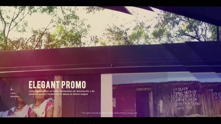 Inspiring Reel: After Effects Templates