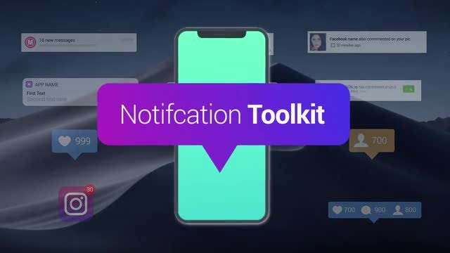 Notification Toolkit: After Effects Templates