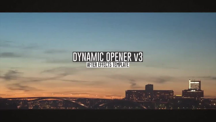 Dynamic Opener 3: After Effects Templates