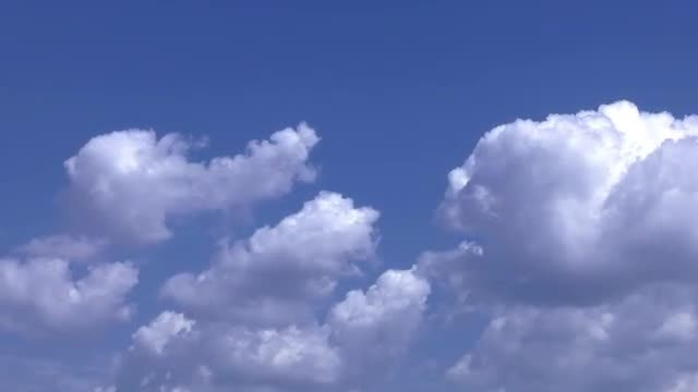 Time Lapse Of Clouds Moving: Stock Video