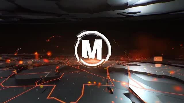 News 3D Glitch Logo: After Effects Templates