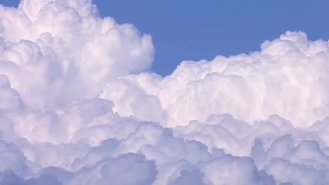 Soft Clouds On Sky: Stock Video