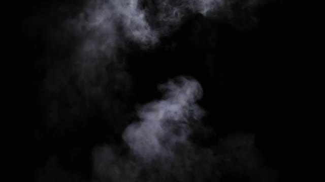 Thin Wispy Smoke Rising: Stock Video
