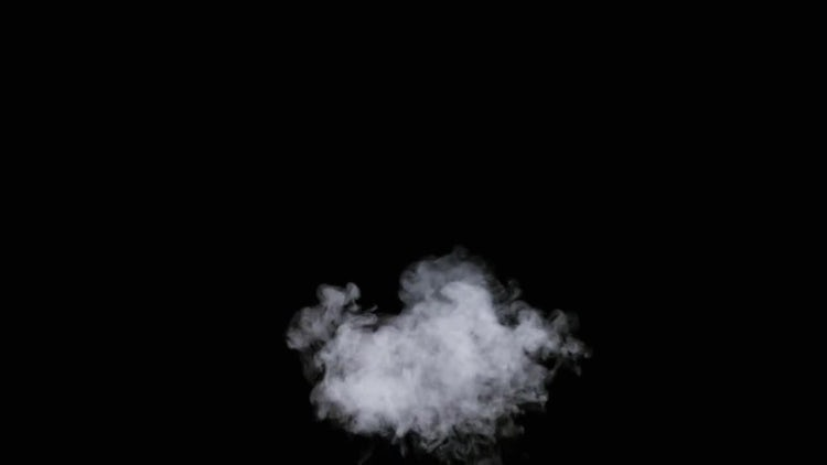 White Smoke Dissolving In Air: Stock Video