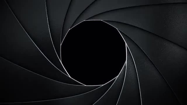 Camera Shutter Transition: Stock Motion Graphics