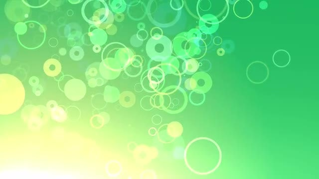Green Rings: Stock Motion Graphics