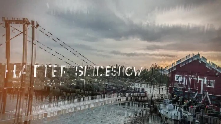 Shatter Slideshow: After Effects Templates