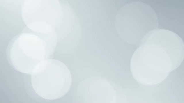 Clean White Bokeh Background: Stock Motion Graphics