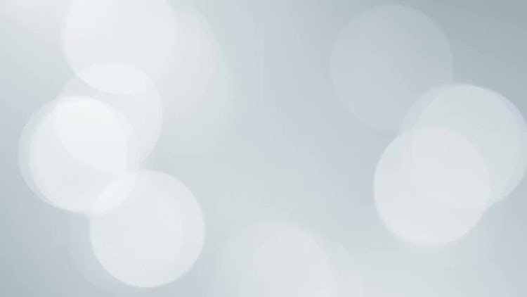 Clean White Bokeh Background: Motion Graphics