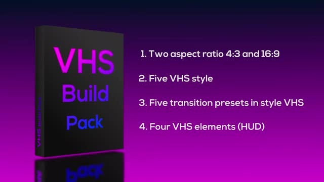 VHS Build Pack: Premiere Pro Templates