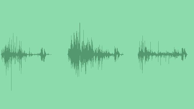 Bottle Rolling: Sound Effects