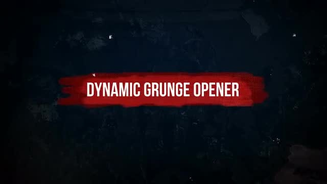 Dynamic Grunge Opener: Premiere Pro Templates