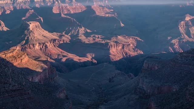 Time Lapse Of Grand Canyon: Stock Video