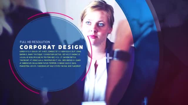 Slideshow-Corporate Design: After Effects Templates