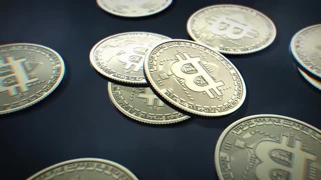 Bitcoin Cryptocurrency Pack: Stock Motion Graphics