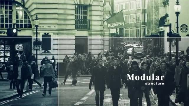 Monochrome Slideshow: After Effects Templates