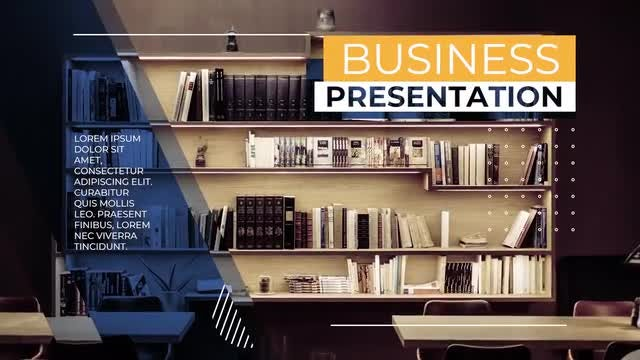 Minimal Business Presentation: Premiere Pro Templates