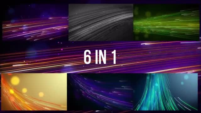 Glowing Lines Path Pack: Stock Motion Graphics
