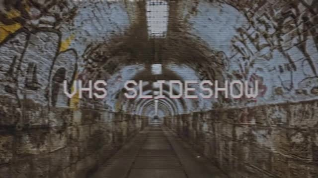VHS Slideshow: Premiere Pro Templates