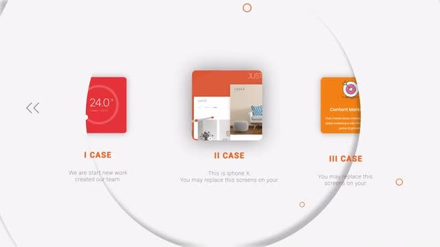 Light Website Presentation: After Effects Templates